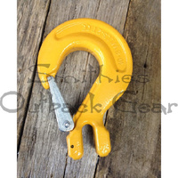 LARGE WINCH RECOVERY HOOK 10MM