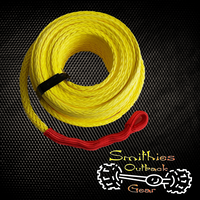 UMWPE 9000KG 30m x 10mm Yellow Synthetic Winch Rope