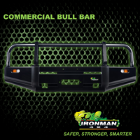 COMMERCIAL BULLBAR SUITS TOYOTA LANDCRUISER 78 SERIES TROOP CARRIER 2007+