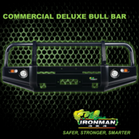 DELUXE COMMERCIAL BULLBAR SUITS TOYOTA HILUX 1997-2004