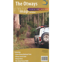 Otways 4WD Map (Meridian Maps)
