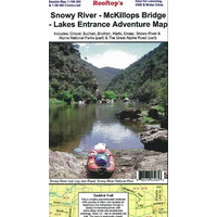 Snowy River - McKillops Bridge - Lakes Entrance Adventure Map (Rooftop's)