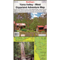 Yarra Valley - West Gippsland Adventure Map - (Rooftop's)