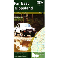 Far East Gippsland 4WD Map 10 (Spatial Vision)