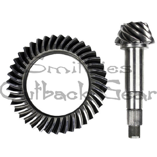 4.88 RATIO - GQ/GU NISSAN PATROL H233b PAIR FRONT & REAR CROWNWHEEL & PINION KIT