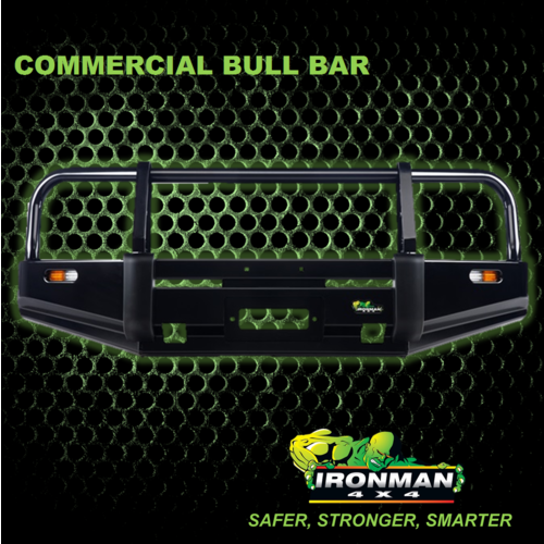 COMMERCIAL BULLBAR SUITS NISSAN NAVARA N22 2002+