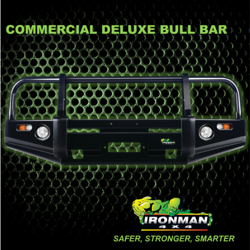 DELUXE COMMERCIAL BULLBAR SUITS TOYOTA LANDCRUISER HZJ105 FZJ105 105 SERIES 3/1998 - 10/2007