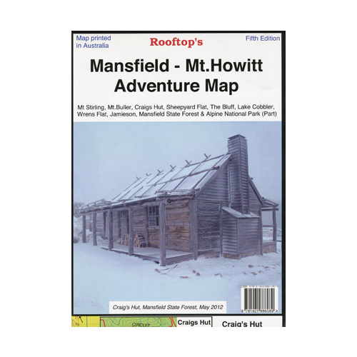 Mansfield - Mt Howitt Adventure Map - (Rooftop's)